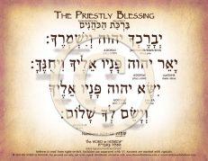 The Priestly Blessings in Hebrew PDF Download (web)